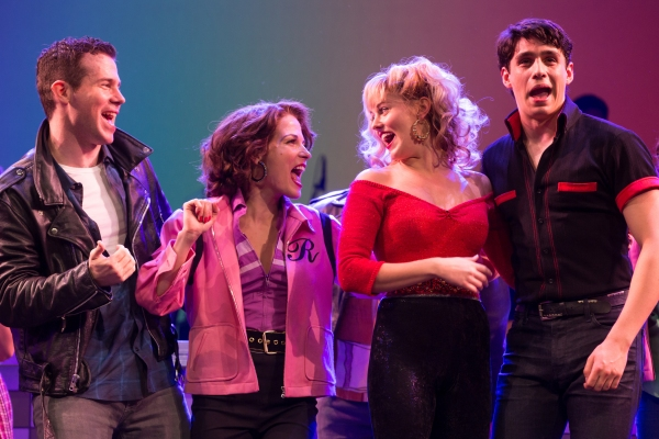 Photo Flash: First Look at Taylor Louderman, Bobby Conte Thornton, Telly Leung & More in Paper Mill Playhouse's GREASE