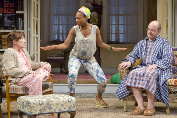 BWW Reviews: Alley Theatre's VANYA AND SONIA AND MASHA AND SPIKE is Uneven but Entertaining