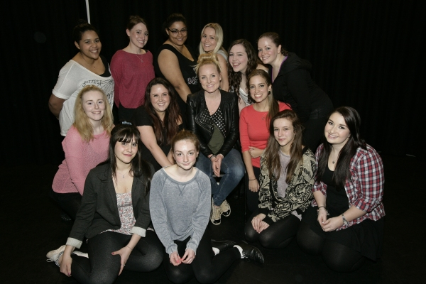 Photo Flash: Sierra Boggess, Kerry Ellis and Jon Robyns Mentor at Staveley Theatre Academy