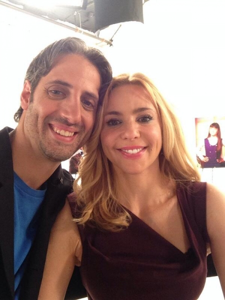 Josh Saviano and Olivia d''Abo
