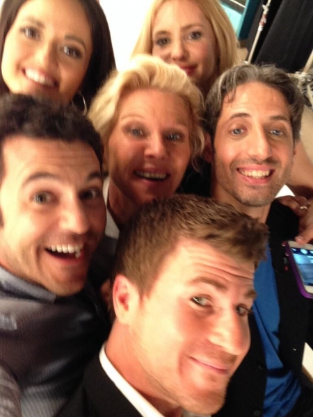 Photo Flash: THE WONDER YEARS Cast Reunites!