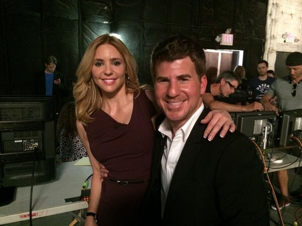 Olivia d''Abo and Jason Hervey