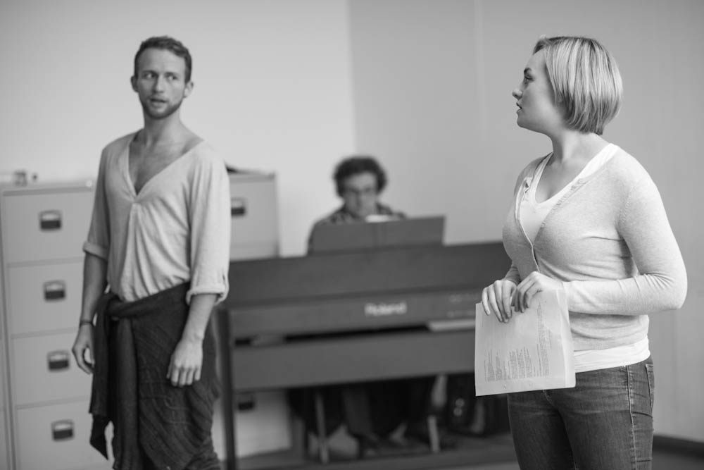 Photo Flash: Sneak Peek at Jerome Pradon, Charlotte Wakefield and More in Rehearsals for PICTURE PERFECT