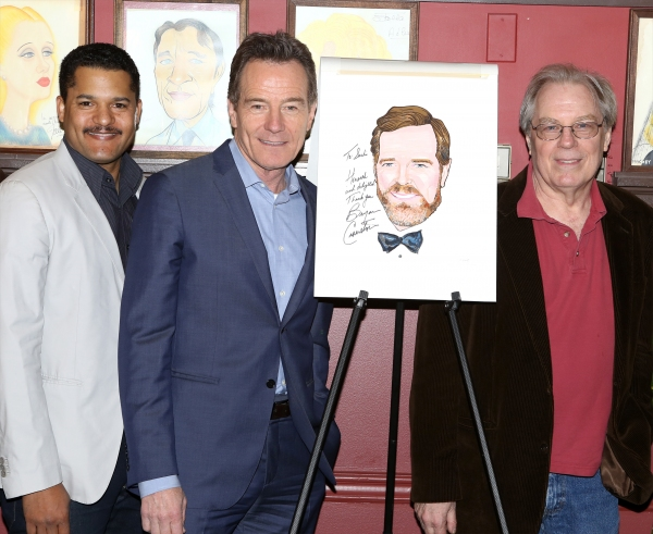 Brandon J. Dirden, Bryan Cranston and Michael McKean