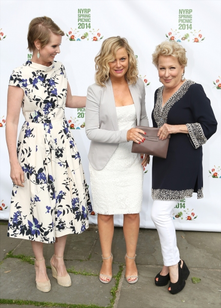 Cynthia Nixon, Amy Poehler and Bette Midler