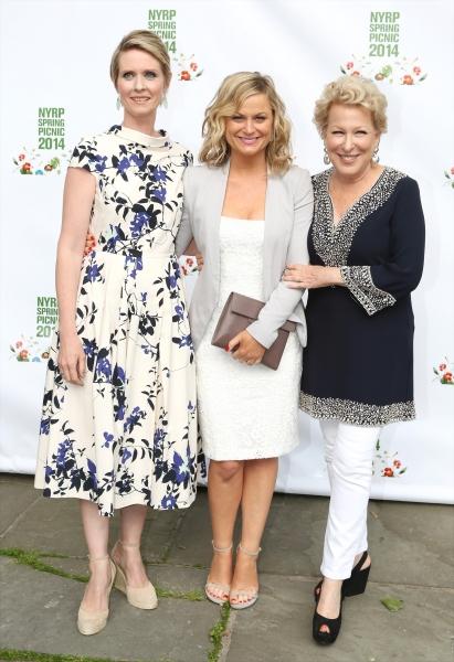 Cynthia Nixon, Amy Poehler and Bette Midler