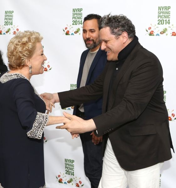 Bette Midler, Arnold Germer and Isaac Mizrahi
