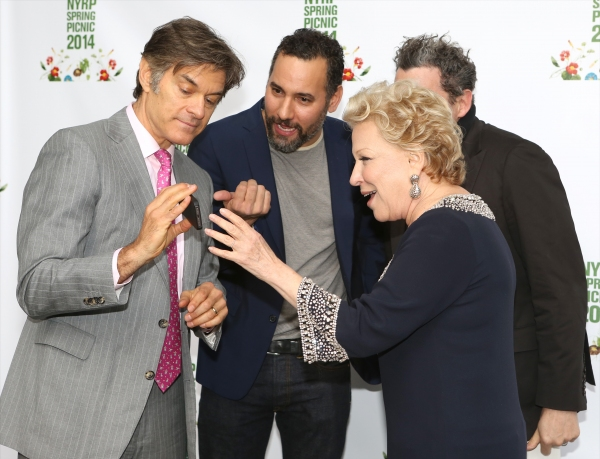 Dr. Oz, Arnold Germer, Bette Midler and Isaac Mizrahi