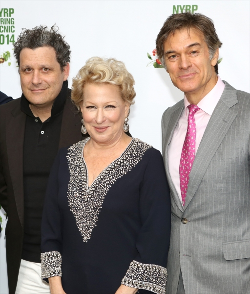 Isaac Mizrahi, Bette Midler and Dr. Oz