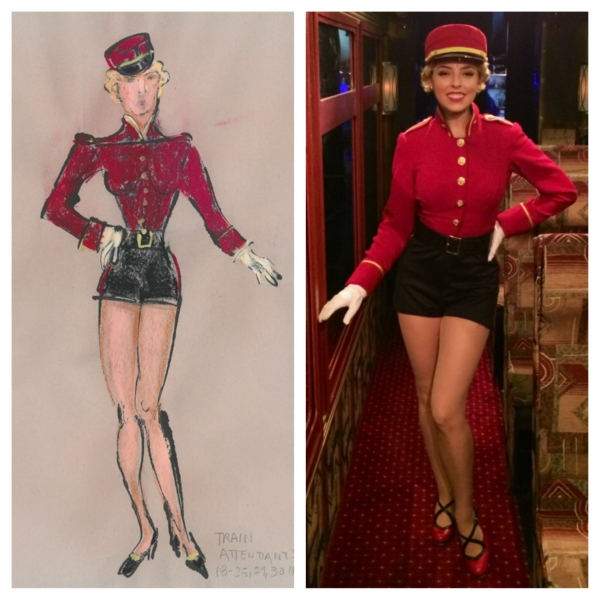 Exclusive Photo Flash: BULLETS OVER BROADWAY's 'Atta Girls' Bring William Ivey Long's Fashions to Life!