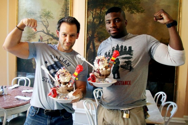 Photo Flash: ROCKY and Serendipity 3 Celebrate National Rocky Road Day with KNOCK-OUT Sundae