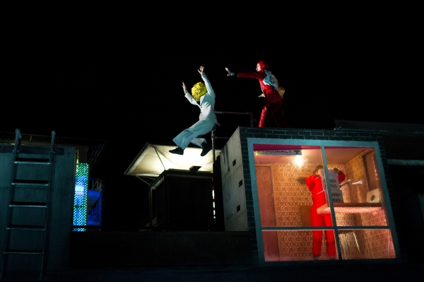 Photo Flash: New Shots from 360 Degree-Performance THE ROOF at Doon Street Car Park