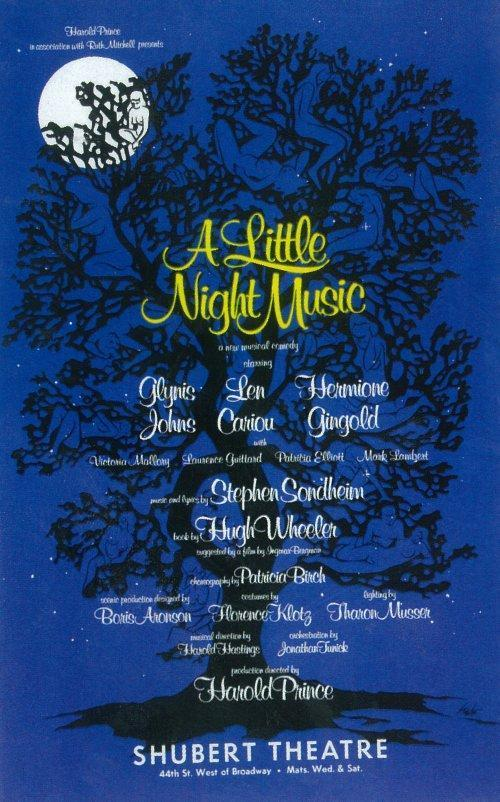 30 Days Of The 2014 Tony Awards: Day #8 - A LITTLE NIGHT MUSIC Vs. PIPPIN