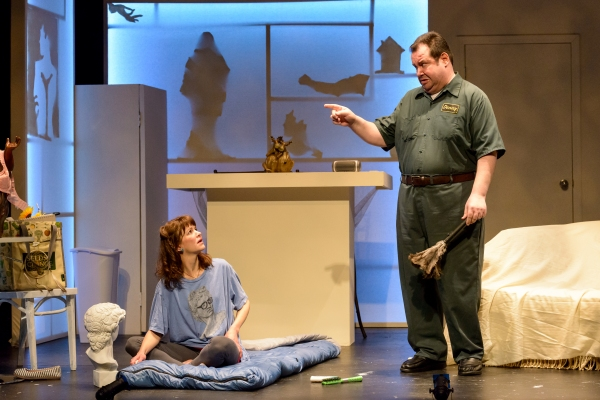 Photo Flash: First Look at Merlin Productions' THE DIORAMA, Opening Tonight
