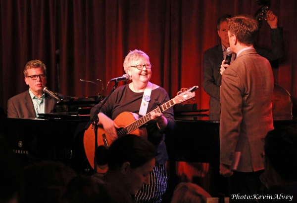 Billy Stritch, Christine Lavin, and Jim Caruso
