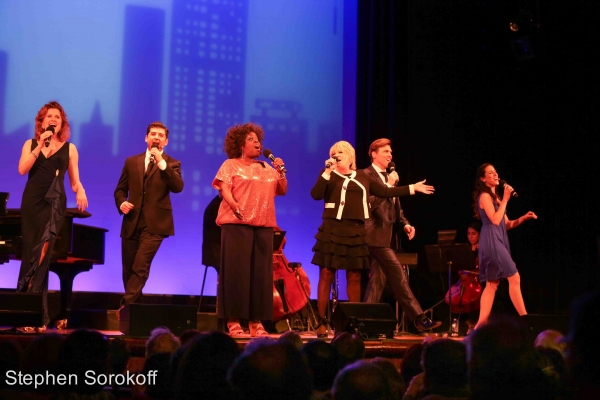 Christiane Noll, Tony Yazbeck, Lillias White, Lorna Luft, Brent Barrett, Jessica Lea Patty