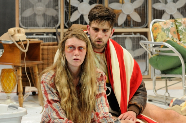 Brown/Trinity Rep MFA actors Britt Faulkner ('15) as Beth and Benjamin Grills ('14) as Jake