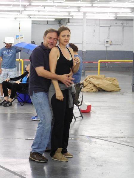 L to R: Michael Tapley & Julia Krohn.