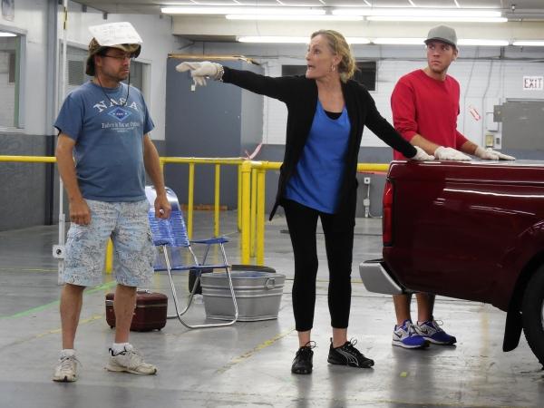L to R: Brad Zimmerman, Susan Koozin & Cole Ryden. Photo