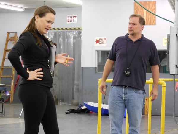 L to R: Brooke Wilson & Michael Tapley. Photo