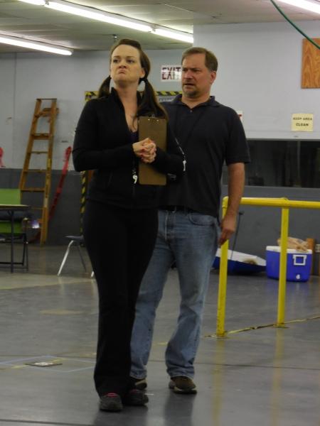 L to R: Brooke Wilson & Michael Tapley.