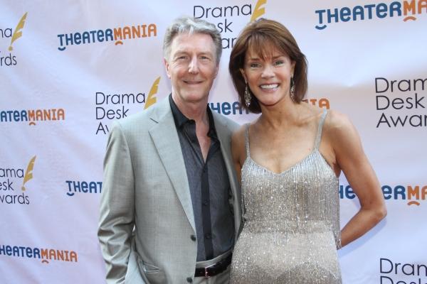 Byron Jennings and Carolyn McCormick