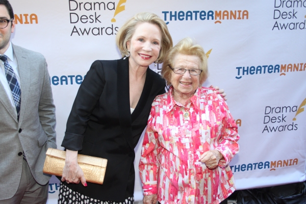 Debra Jo Rupp and Dr. Ruth