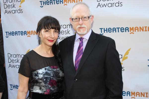 Robert Schenkkan and his wife