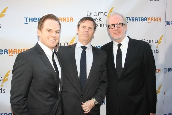 Michael C. Hall, Will Eno and Tracy Letts