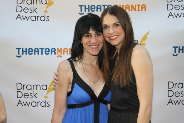 Leigh Silverman and Sutton Foster