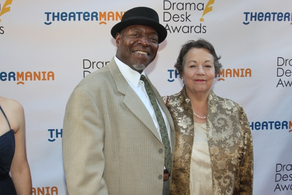 Chuck Cooper and wife
