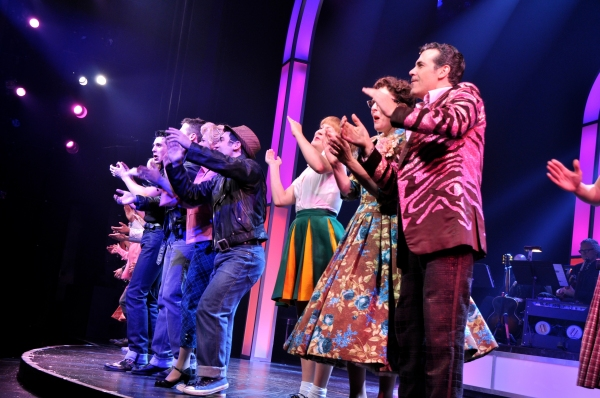 Photo Coverage: Paper Mill Playhouse's GREASE Takes Opening Night Bows!