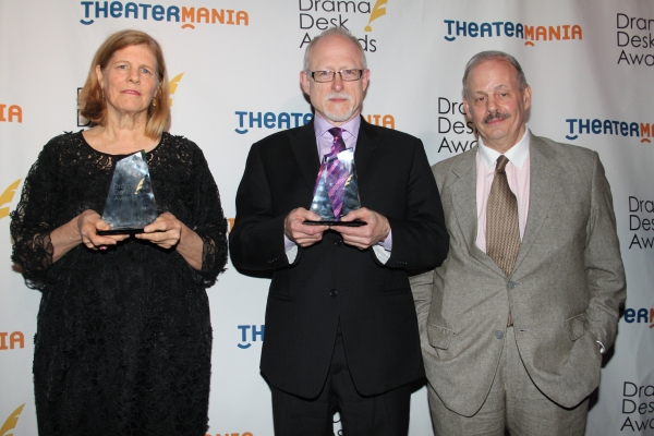 Louise Gund, Jeffrey Richards and Robert Schenkkan