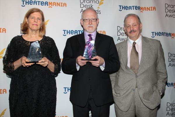 Louise Gund, Jeffrey Richards and Robert Schenkkan Photo