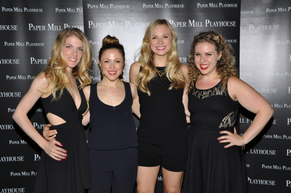 Photo Coverage: Company of Paper Mill Playhouse's GREASE Celebrates Opening Night!