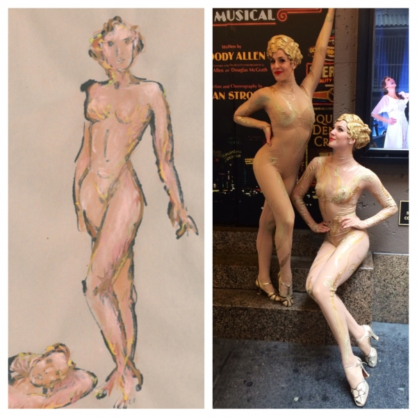 Exclusive Photo Flash: BULLETS OVER BROADWAY's 'Atta Girls' Bring William Ivey Long's Fashions to Life - Part 2