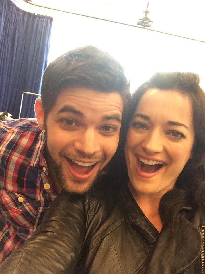 Jeremy Jordan & Laura Michelle Kelly Share Selfie From First FINDING NEVERLAND Rehearsals