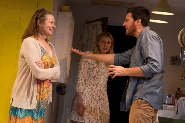 Photo Flash: First Look at Greta Gerwig and More in MCC Theater's THE VILLAGE BIKE
