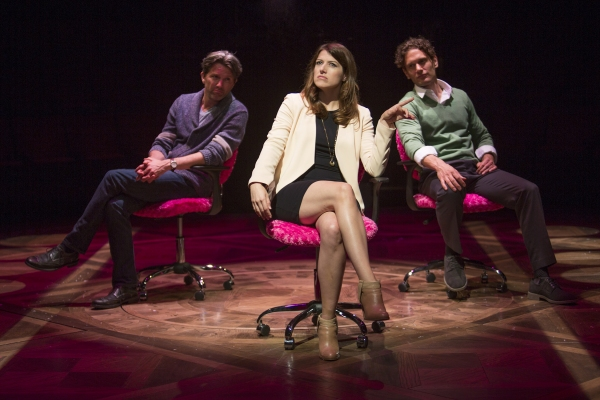 Jon Patrick Walker as Andy, Nicole Parker as Mags, and Eric William Morris as Joe Photo