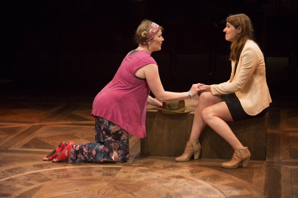 Heidi Blickenstaff as Bonnie and Nicole Parker as Mags Photo