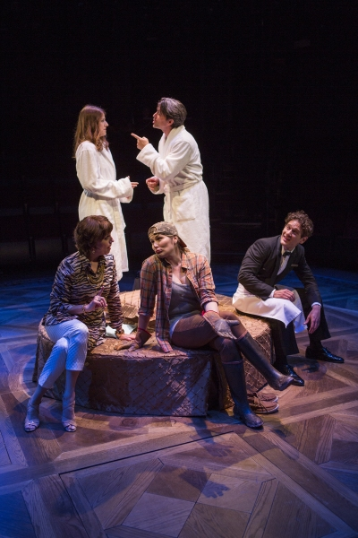 Nicole Parker as Mags, Jon Patrick Walker as Andy, Eric William Morris as Jeff, Heidi Blickenstaff as Jane, and Beth Leavel as Rhoda