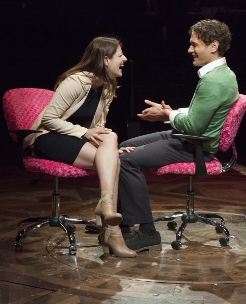 Nicole Parker as Mags and Eric William Morris as Joe Photo