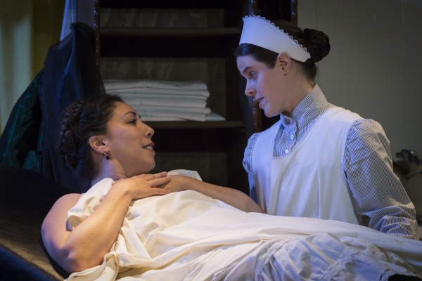 Lia Seltzer as Sabrina Daldry and Vanessa Strickland as Annie
