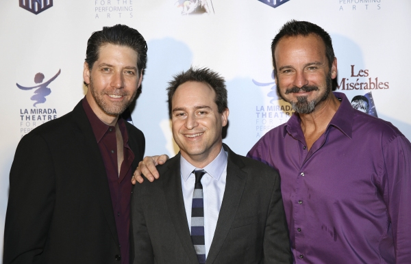 Cast member James Barbour, Director Brian Kite and cast member Randall Dodge