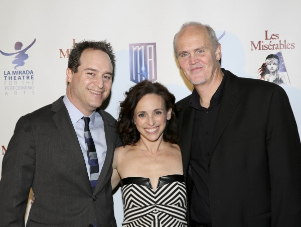 Director Brian Kite, Choreographer Dana Solimando and Musical Director John Glaudini