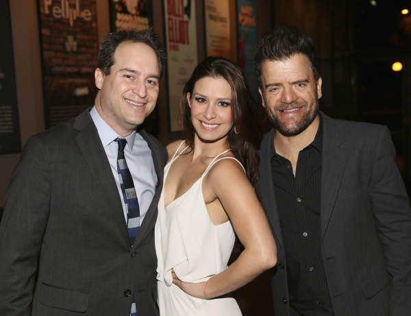 Director Brian Kite, cast member Cassandra Murphy and actor Kevin Weisman