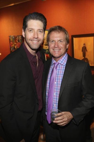 Cast member James Barbour and Executive Producer Tom McCoy