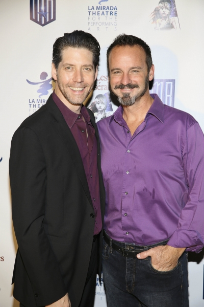 Cast members James Barbour and Randall Dodge