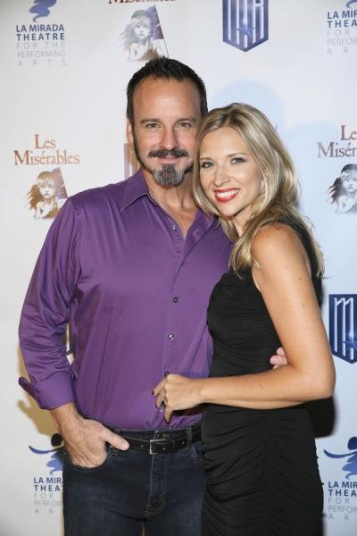 Cast member Randall Dodge and wife Brenda Dodge