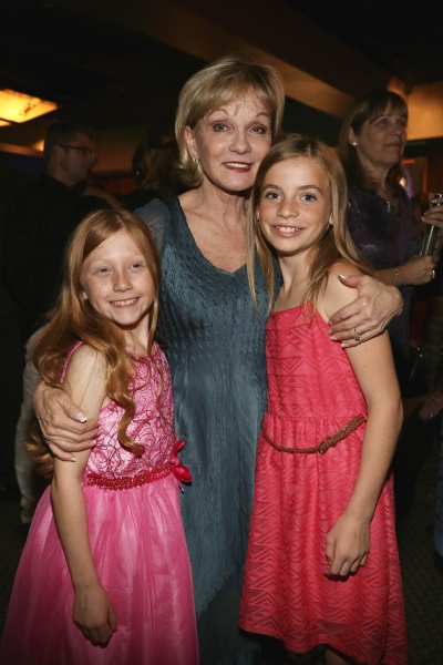 Cast member Emily LaFontaine, Executive Producer Cathy Rigby and cast member Samantha Gayer